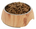 HARPER & HOUND FAUX LIGHT WOOD 2 IN 1 BOWL 950ML**