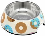 FUZZYARD GO NUTS DONUTS DOG BOWL SMALL
