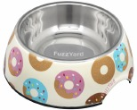 FUZZYARD GO NUTS DONUTS DOG BOWL MEDIUM