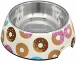 FUZZYARD GO NUTS DONUTS DOG BOWL LARGE