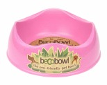 BECO PETS PINK DOG BOWL LARGE