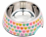 FUZZYARD CANDY HEARTS BOWL SMALL