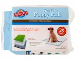SPOTTY INDOOR DOG POTTY PADS 25 PACK