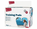 YOURS DROOLLY TRAINING PADS 30 PACK BLUE