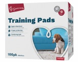 YOURS DROOLLY TRAINING PADS 100 PACK BLUE