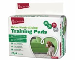 YOURS DROOLLY ANTI BACTERIAL TRAINING PADS 28 PACK GREEN