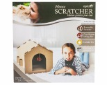 ZIP KITTY CAT SCRATCHER HOUSE