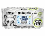 ABSORB PLUS ANTIBACTERIAL DOG WIPES 80 SHEETS