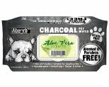 ABSORB PLUS CHAROCOAL ALOE VERA DOG WIPES 80 SHEETS