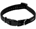ROGZ NITE LIFE COLLAR BLACK REFLECTIVE SMALL