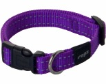 ROGZ SNAKE COLLAR PURPLE REFLECTIVE MEDIUM