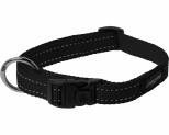 ROGZ FANBELT COLLAR BLACK REFLECTIVE LARGE