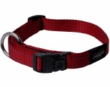 ROGZ FANBELT COLLAR RED REFLECTIVE LARGE