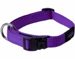 ROGZ FANBELT COLLAR PURPLE REFLECTIVE LARGE