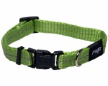ROGZ NITE LIFE COLLAR LIME REFLECTIVE SMALL