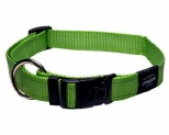 ROGZ FANBELT COLLAR LIME REFLECTIVE LARGE
