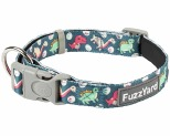 FUZZYARD DOG COLLAR DINOSAUR LAND LARGE