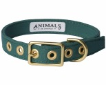 ANIMALS IN CHARGE FOREST GREEN COLLAR LARGE