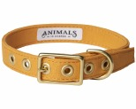 ANIMALS IN CHARGE HARVEST YELLOW COLLAR LARGE