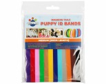 WAGGING TAILZ PUPPY ID BANDS MEDIUM STANDARD 12PK