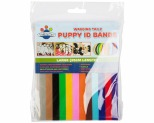WAGGING TAILZ PUPPY ID BANDS LARGE STANDARD 12PK