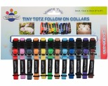 WAGGING TAILZ TINY TOTZ COLLAR SMALL STANDARD 12PK