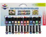 WAGGING TAILZ TINY TOTZ COLLAR SMALL HEART 12PK