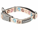 FUZZYARD GO NUTS COLLAR MEDIUM