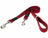 ROGZ FANBELT MULTI LEAD REFLECTIVE LARGE - RED