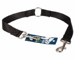 K9 LEAD WEB DOUBLE 2.5X75CM BLACK