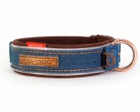 EZYDOG COLLAR CLASSIC M DENIM