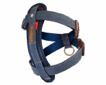 EZYDOG HARNESS CHEST PLATE XS DENIM
