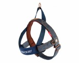 EZYDOG HARNESS QUICK FIT M DENIM