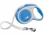 FLEXI NEW COMFORT TAPE RETRACTABLE DOG LEAD LARGE 5M BLUE