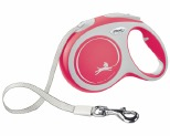 FLEXI NEW COMFORT TAPE RETRACTABLE DOG LEAD LARGE 5M RED