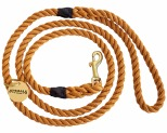 ANIMALS IN CHARGE ROPE LEASH HARVEST YELLOW