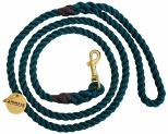 ANIMALS IN CHARGE ROPE LEASH FOREST GREEN