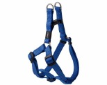 ROGZ SNAKE STEP-IN HARNESS BLUE REFLECTIVE MEDIUM