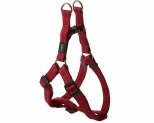 ROGZ SNAKE STEP-IN HARNESS RED REFLECTIVE MEDIUM