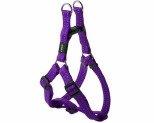 ROGZ SNAKE STEP-IN HARNESS PURPLE REFLECTIVE MEDIUM