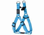ROGZ NITE LIFE STEP-IN HARNESS TURQUOISE REFLECTIVE SMALL