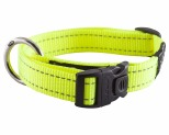 ROGZ FANBELT COLLAR DAYGLOW YELLOW LARGE