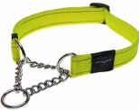 ROGZ LUMBERJACK OBED COLLAR DAYGLOW YELLOW EXTRA LARGE