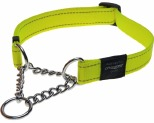 ROGZ FANBELT OBED COLLAR DAYGLOW YELLOW LARGE