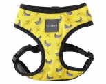 FUZZYARD MONKEY MANIA HARNESS YELLOW/WHITE BANANA EXTRA SMALL