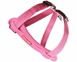 EZYDOG CHEST PLATE HARNESS PINK MEDIUM