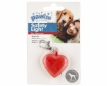 PAWISE DOG COLLAR SAFETY LIGHT 4CM*+