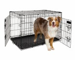 PETMATE TWO DOOR TRAINING CRATE 88CM - BLACK