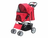 PAWISE PET STROLLER - RED**
