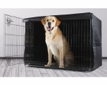 "BONE DESIGNS CRATE TRAINING COVER BLACK 48""**"